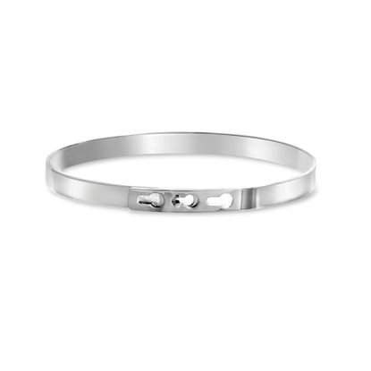 Imagen de Sterling Silver High Polished Adjustable Belt Bangle