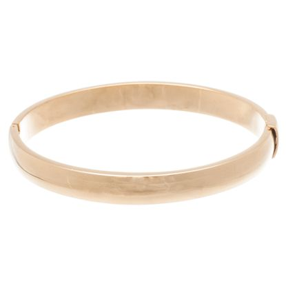 Imagen de Gold-Tone Stainless Steel 6 Matte Slip-On Bangle