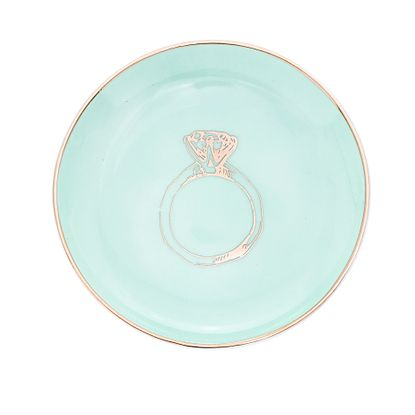 Imagen de Light Green Ring Trinket Tray