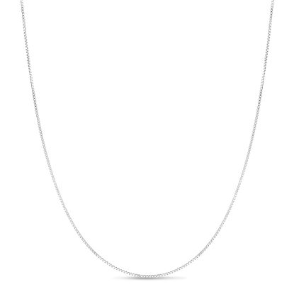 Picture of Sterling Silver Box Chain 24 Necklace