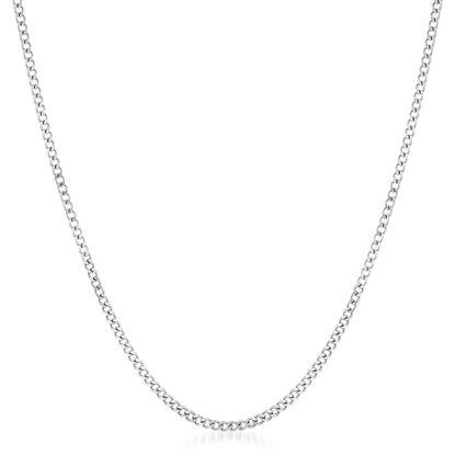 Imagen de Sterling Silver Curb Chain 20 Necklace