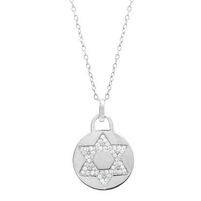 Imagen de Star of David Necklace in Sterling Silver