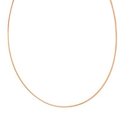 Imagen de Rose-Tone Sterling Silver Tubetto 12 Choker Necklace