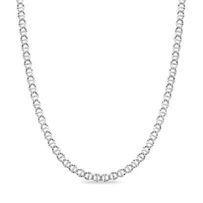 Imagen de Sterling Silver 22 Flat Mariner Necklace