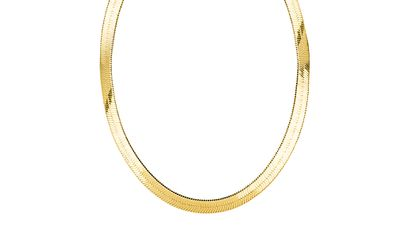 Imagen de Gold-Tone Brass 20 Herringbone Necklace