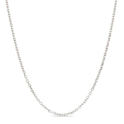 Imagen de Silver-Tone Stainless Steel 24 Chain Necklace