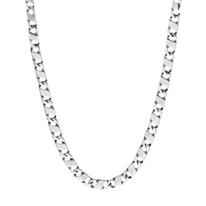 Imagen de Figure 8 Link Chain Men's Necklace in Stainless Steel