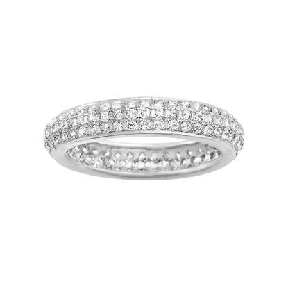 Imagen de Cubic Zirconia Band Ring in Sterling SIlver