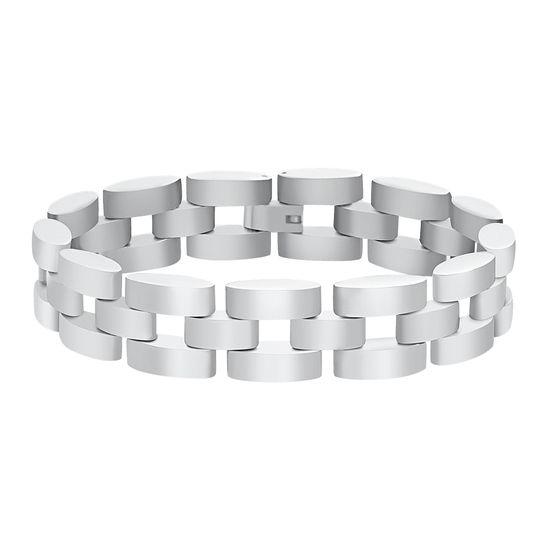 Imagen de Men's Link Bracelet in Stainless Steel