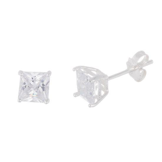 Imagen de Sterling Silver Swarovski Elements 2.0 TCW Stud Earring