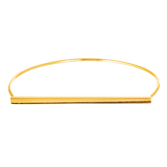 Imagen de Square Linear Bar Slip-On Bangle