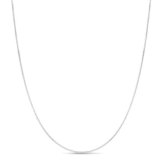 Imagen de Sterling Silver Box Chain 24 Necklace