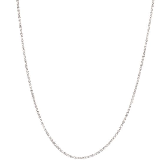 Imagen de Sterling Silver Wheat Chain Necklace