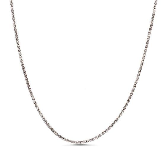 Imagen de Sterling Silver Wheat Chain Necklace