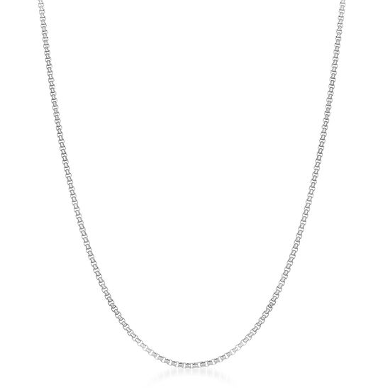 Imagen de Sterling Silver Double Cable Chain Necklace
