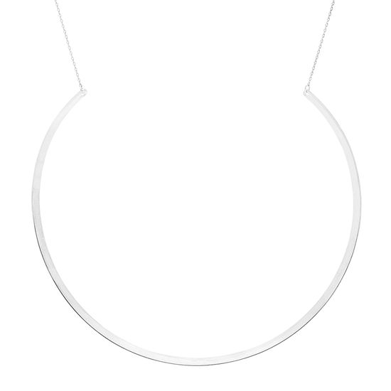 Imagen de E-Coat Sterling Silver Choker Necklace