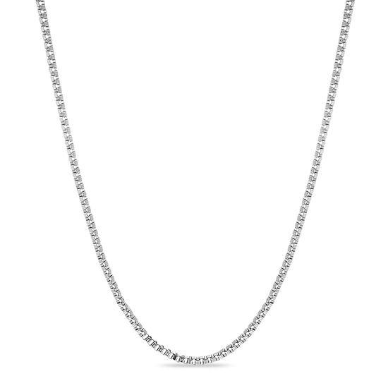 Imagen de Silver-Tone Stainless Steel 30 Necklace
