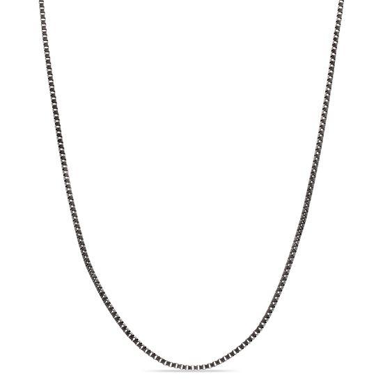 Imagen de Black-Tone Stainless Steel 2mm IP 30 Necklace