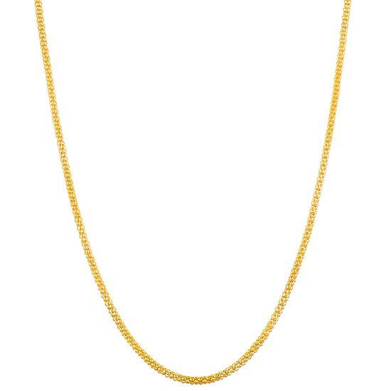 Imagen de Gold-Tone Stainless Steel 16 Popcorn Chain Necklace