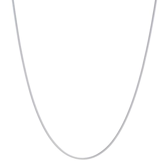 Imagen de Silver-Tone Stainless Steel 30 Snake Chain Necklace