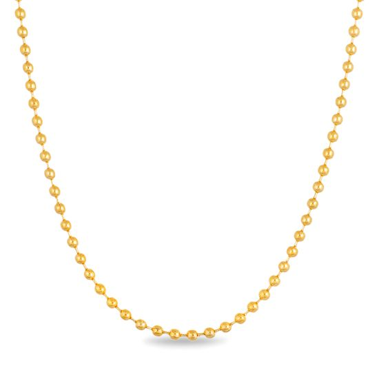 Picture of Gold-Tone Stainless Steel IP Chain Necklace