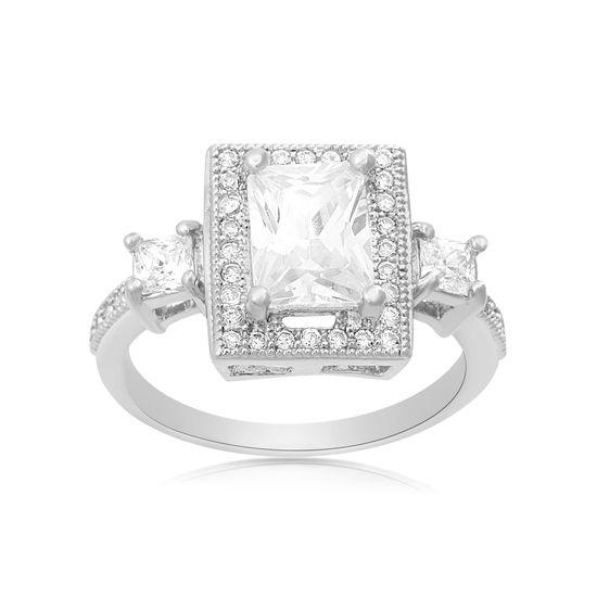 Imagen de 4.0 TCW Simulated Diamond  Ring