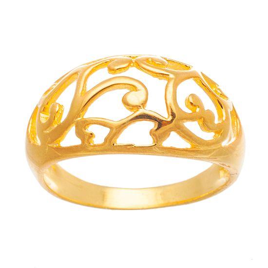 Imagen de Sterling Silver w/ Filigree Design Ring Size 9