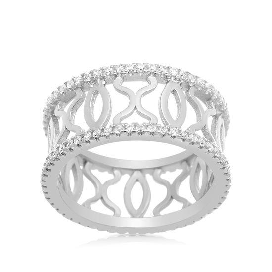 Imagen de Swarovski Elements XO Eternity Ring