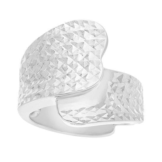 Imagen de Sterling Silver Textured Overlap Ring