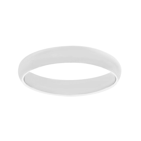 Imagen de E-Coat Sterling Silver Plain Band Ring Size 7