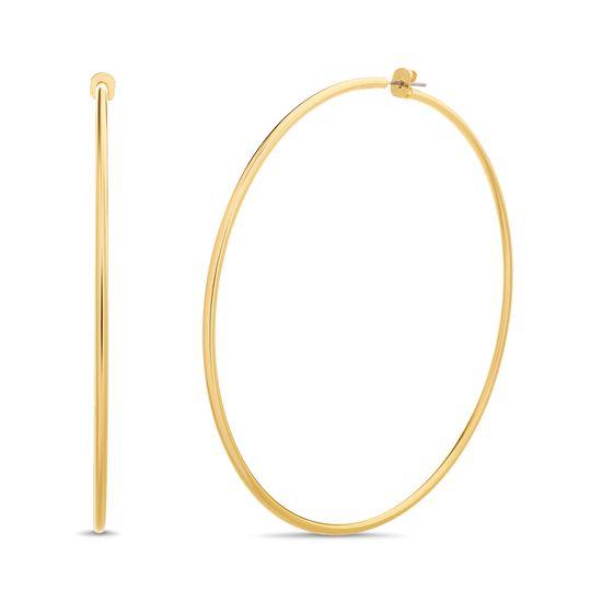 Picture of Steve Madden Post Hoop Earrings for Women (Yellow)