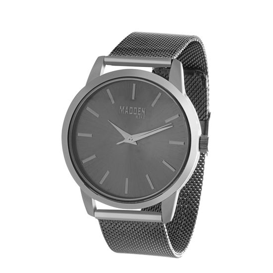 Imagen de Steve Madden Polished Case Simple Face Dial Mesh Band Watch