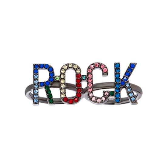 Imagen de Steve Madden Women's Rhinestone Rock Fashion Ring Multi One Size